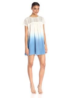 Plenty by Tracy Reese Women's Lace Yoke Dress
