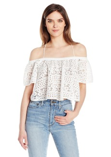 Plenty by Tracy Reese Women's Off Shoulder Blouse  L