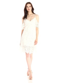 Plenty by Tracy Reese Women's Off Shoulder Lace Dress
