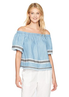 Plenty by Tracy Reese Women's Off The Shoulder Top  XS
