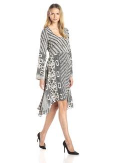 Plenty by Tracy Reese Women's Scarf Hem Midi Dress