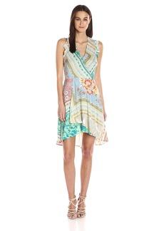 Plenty by Tracy Reese Women's Sleeveless Surplice Dress  XS