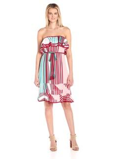 Plenty by Tracy Reese Women's Strapless Midi Dress  S