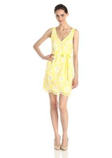 Plenty by Tracy Reese Women's Thea Sunflower Lace Dress