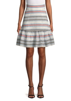Plenty by Tracy Reese Tie Flounced Skirt
