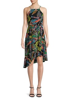 Plenty by Tracy Reese Tropical Asymmetric Dress