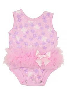 Popatu 3D Flower Tutu Bodysuit (Baby)