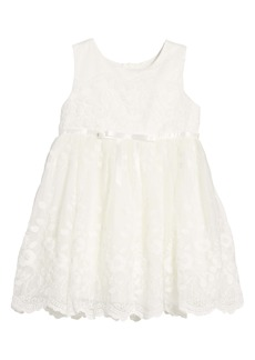 Popatu All Over Lace Dress (Baby)