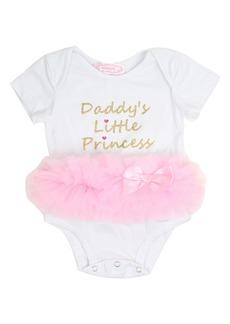 Popatu Daddy's Little Princess Tutu Bodysuit (Baby Girls)