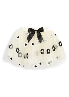 Popatu Embroidered Daisy Tutu Skirt (Toddler Girls & Little Girls)