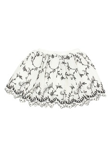 Popatu Embroidered Tulle Skirt (Toddler Girls & Little Girls)