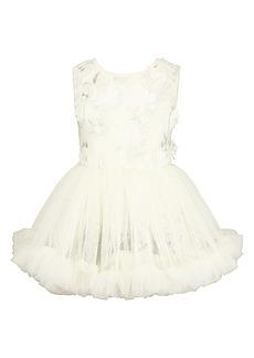 Popatu Floral Appliqué Dress (Baby)