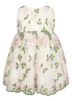 Popatu Floral Embroidered Dress (Baby)