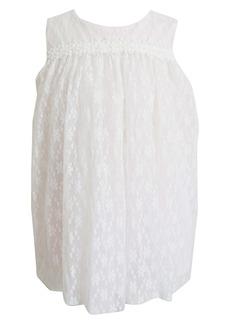 Popatu Floral Lace Float Dress (Baby)