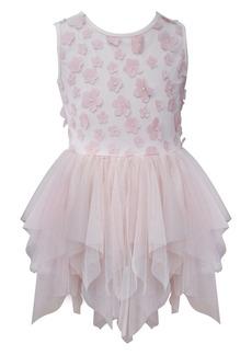 19e62fe10 Popatu Floral Tiered Tulle Dress (Toddler Girls, Little Girls & Big Girls)