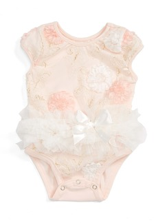 Popatu Floral Tutu Bodysuit (Baby)