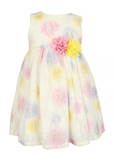 Popatu Flower Lace Dress (Toddler, Little Girl & Big Girl)