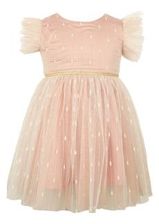 Popatu Flutter Sleeve Dress (Baby)