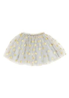 Popatu Glitter Star Tulle Skirt (Toddler Girls & Little Girls)