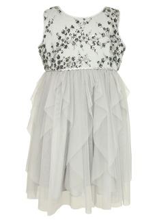 Popatu Kids' Sleeveless Tulle Dress (Toddler, Little Girl & Big Girl)