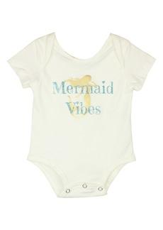 Popatu Mermaid Vibes Bodysuit (Baby Girls)