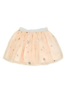 Popatu Metallic Stars Tulle Skirt (Toddler Girls & Little Girls)