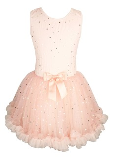 Popatu Metallic Stars Tutu Dress (Baby)
