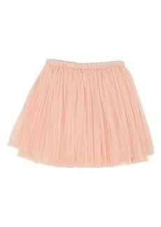 Popatu Pleated Tulle Skirt (Toddler Girls & Little Girls)