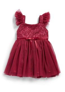 Popatu Sequin Bodice Tulle Dress (Baby)