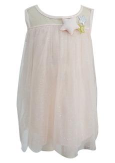 Popatu Star Glitter Tulle Dress (Toddler Girls, Little Girls & Big Girls)