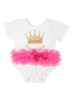 Popatu Sweet Princess Tutu Bodysuit (Baby Girls)