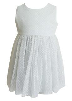 Popatu Swiss Dot Tulle Dress (Baby)