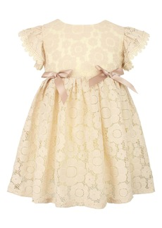 Popatu Tulle Sleeve Lace Dress (Baby)