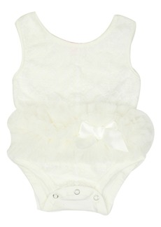 Popatu Tutu Bodysuit (Baby Girls)