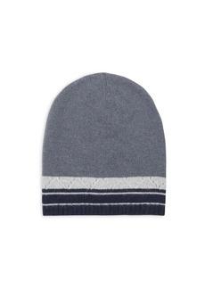Portolano Colorblock Cashmere Hat