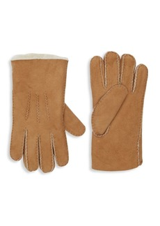 Portolano Shearling-Lined Suede Gloves