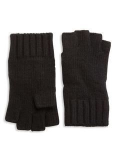 Portolano Solid Knit Cashmere Gloves