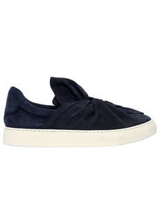 Ports 1961 20mm Knot Suede Slip-on Sneakers