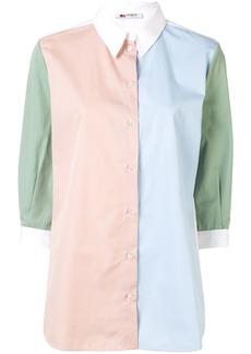 Ports 1961 colour-block shirt