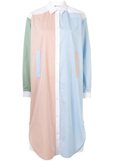 Ports 1961 colour-block shirt dress