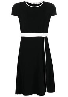Ports 1961 contrast-trim dress