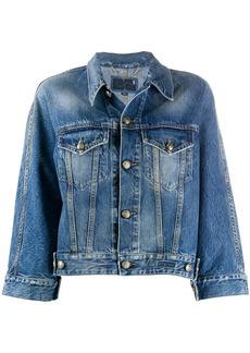 Ports 1961 cropped double pocket jacket