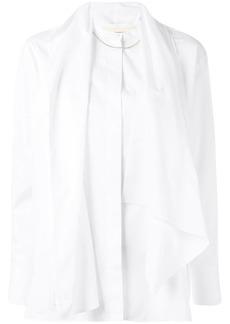 Ports 1961 draped detail shirt