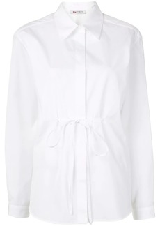 Ports 1961 drawstring-waist shirt