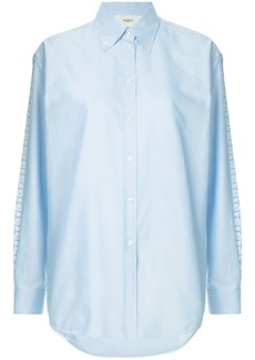 Ports 1961 embroidered side stripe shirt