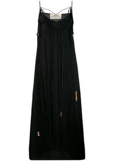 Ports 1961 fringed sleeveless maxi dress
