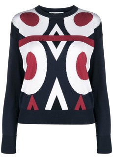 Ports 1961 Fully Fashioned crew-neck top