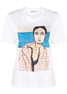Ports 1961 graphic-print crew-neck T-shirt