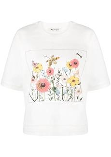 Ports 1961 graphic print crew-neck T-shirt