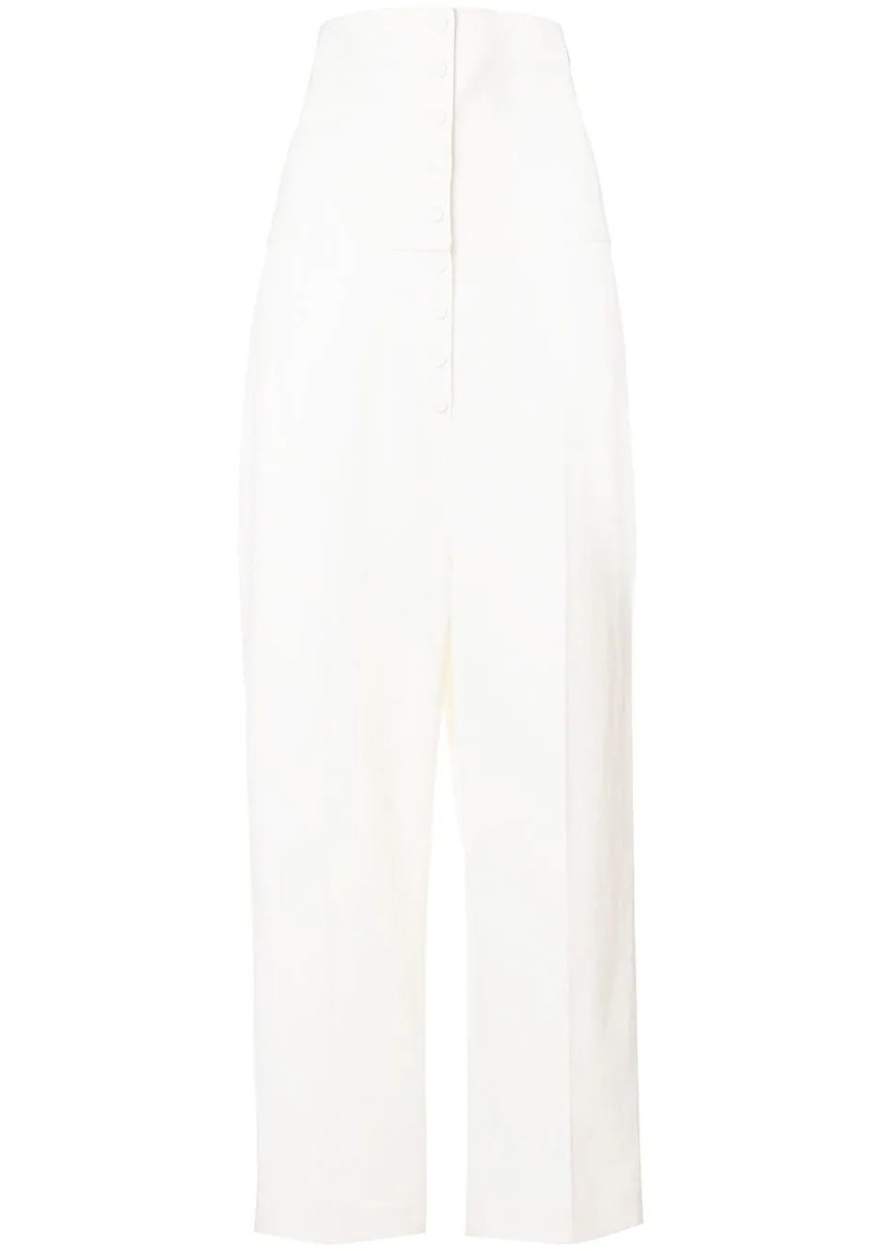 Ports 1961 high-waist tailored trousers